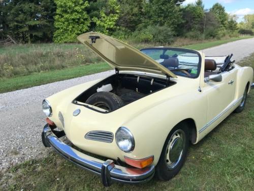 1972 VW Karmann Ghia Convertible