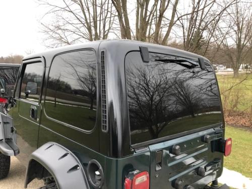 1998 Jeep Wrangler LS swap