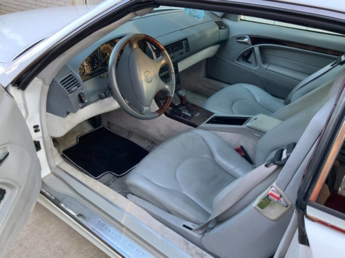 2001 MERCEDES SL 500