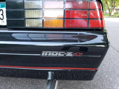 1990 CHEVROLET CAMARO Z28 IROC